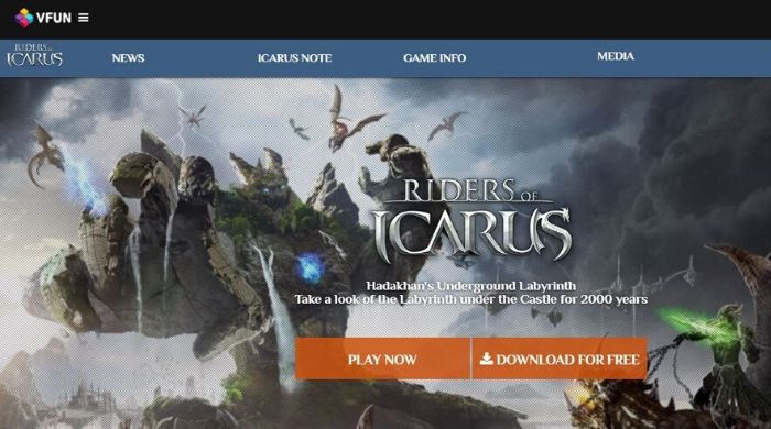 Riders of Icarus - Free Massively Multiplayer Online Roleplaying Games