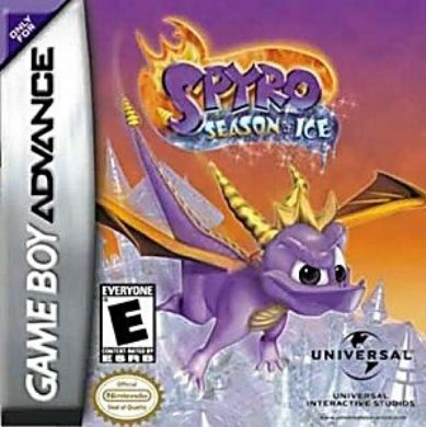 Spyro Season of Ice - GBA Game online