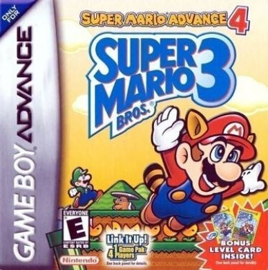 Super Mario Advance 4 Super Mario Bros. 3 Rom