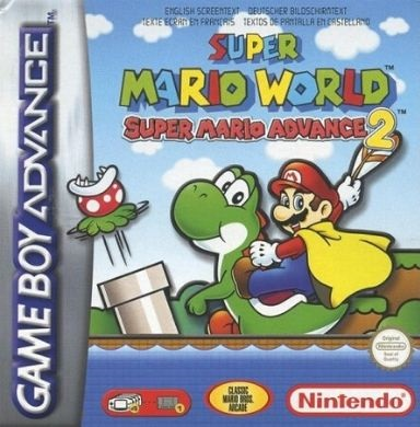Super Mario World Super Mario Advance 2 - Gameboy advance rom