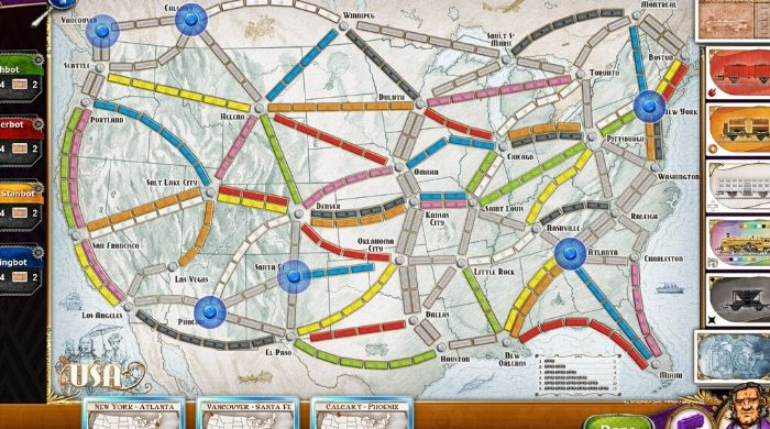 Ticket To Ride online board game
