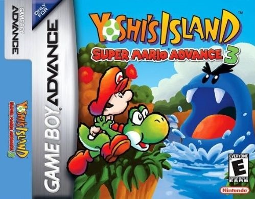 Yoshi's Island Super Mario Advance 3 - best gba games roms
