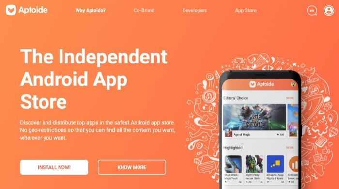 Aptoide - Best Play Store Alternative