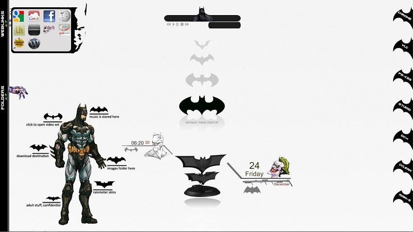 Batman Rainmeter Download