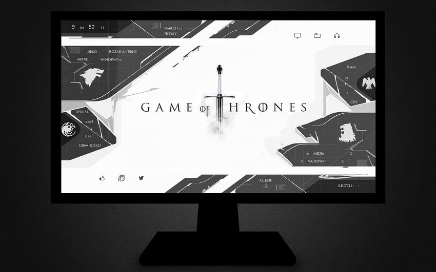 Game of Thrones Rainmeter
