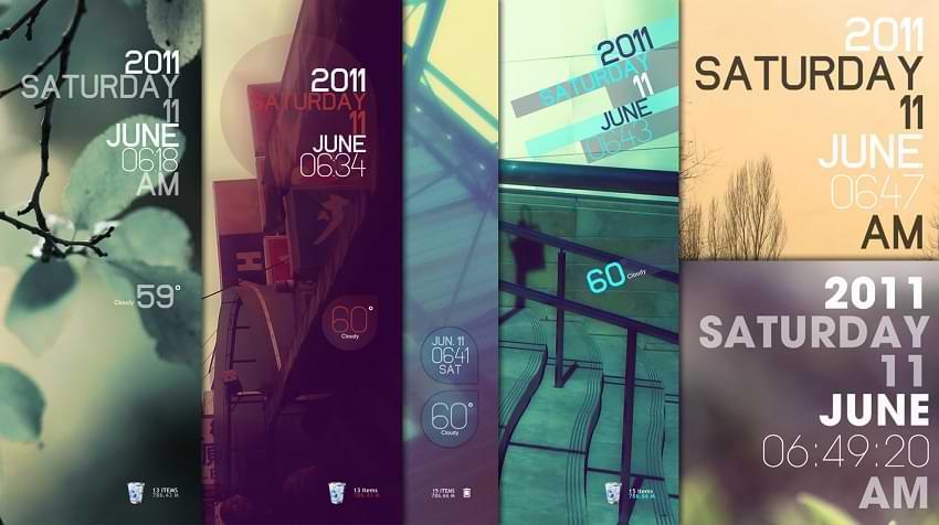 Simple Media Rainmeter Skin Windows 10